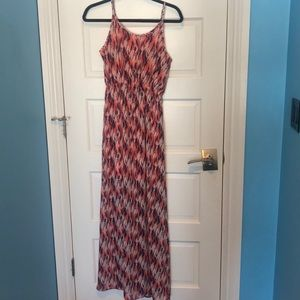 Charming Charlie Pattern Maxi Dress